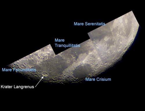 Kartographie des östlichen Mondrandes