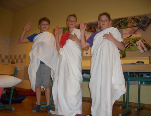Auf den Spuren der Römer mit der 2E