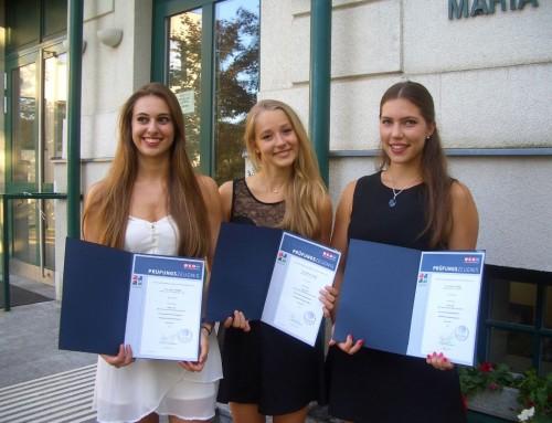 Erfolgreiche Unternehmerinnen am SRG Maria Enzersdorf
