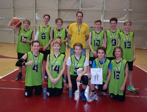 Basketball Unterstufe Burschen: Nichtvereinsspieler holen den Titel zurück nach Maria Enzersdorf