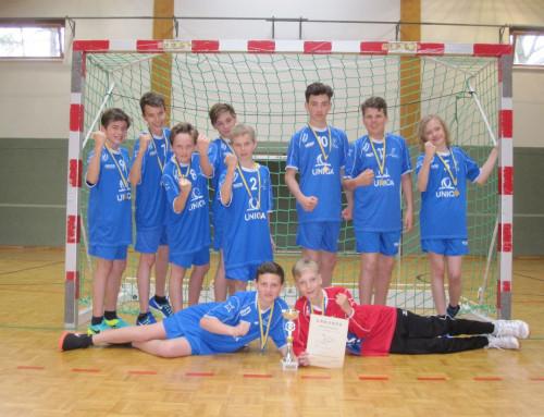 Gold für unsere Handballer nach Herzschlagfinale