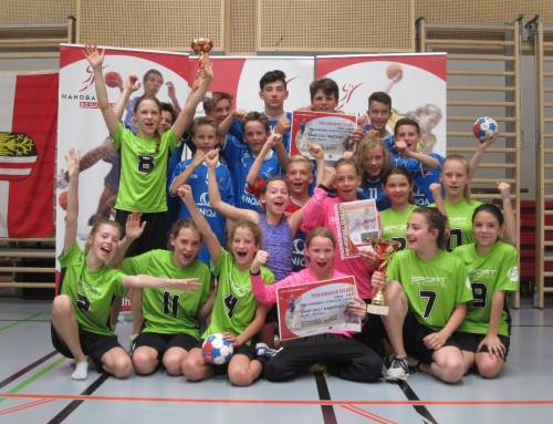 Mädchen und Burschen qualifizieren sich für Handball-Bundesfinale