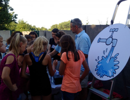 Wasserverkostung am Schulfest