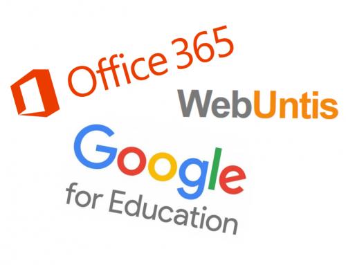 Neuanmeldungen für Office365, GSuite und Webuntis Elternzugänge ab sofort verfügbar