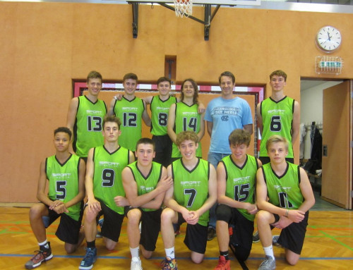 Basketball Oberstufe: SRG steigt mit zwei klaren Erfolgen in die Hauptrunde auf!
