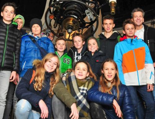 Exkursion der Astronomiegruppe zur Universitätssternwarte