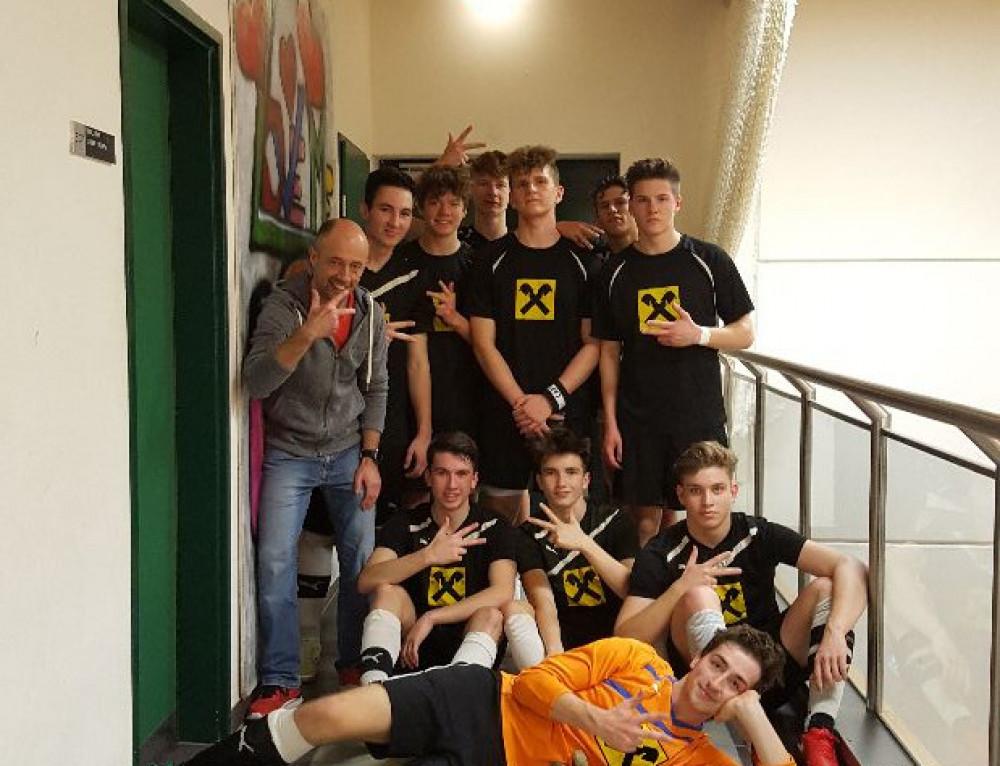 Drei Spiele, drei klare Siege: Souveräner Start in die Futsal-Saison für die SRG Oberstufenmannschaft