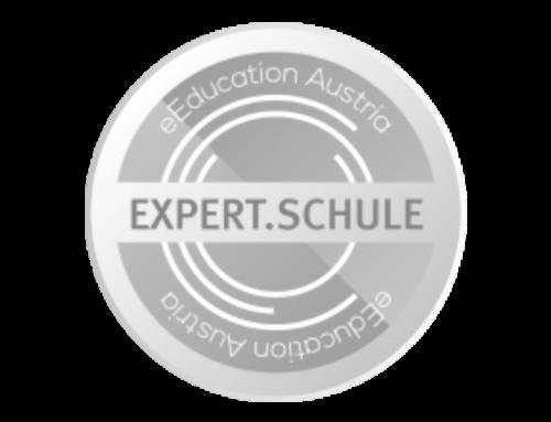 Auszeichnung als eEducation.Expert.Schule im Schuljahr 2019/20