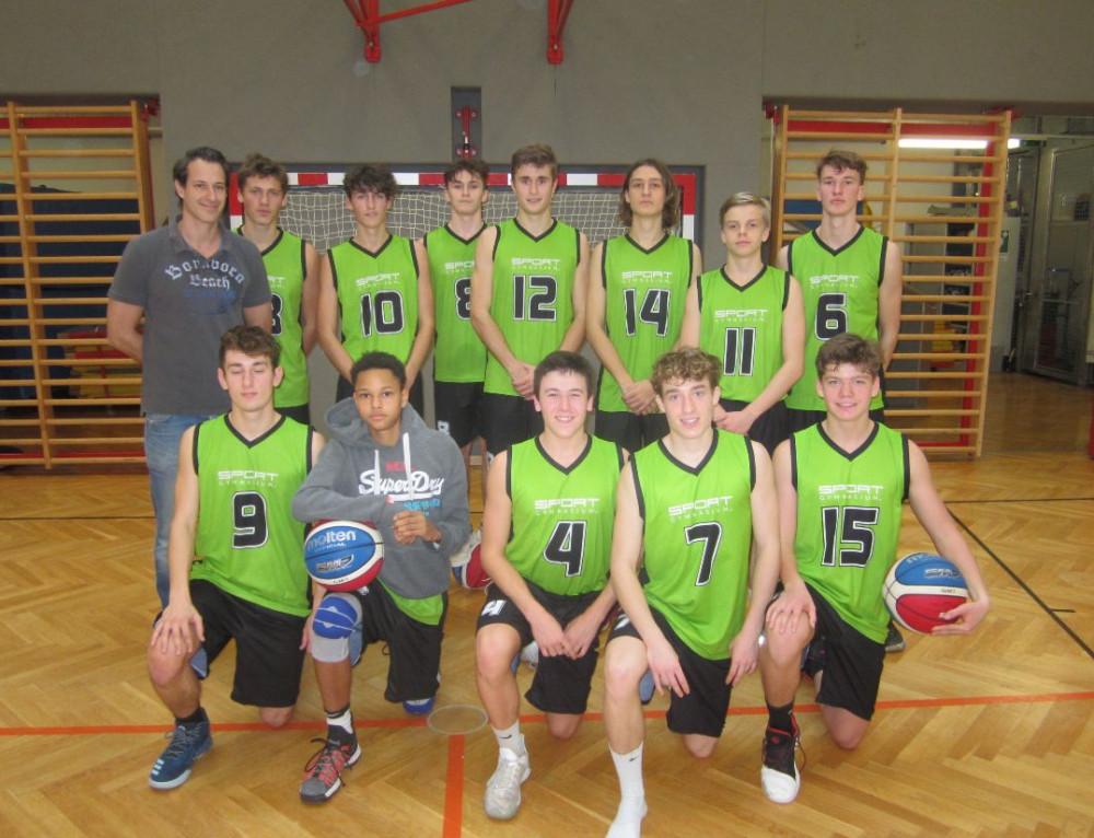 Basketball Oberstufe: Sportgymnasiasten ziehen mit starker Leistung ins Landesfinale ein