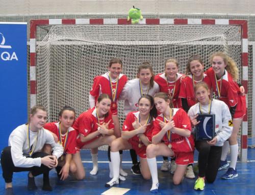 Landesmeisterinnen im UNIQA Handball-Schulcup