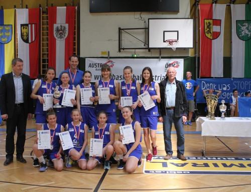 Basketball: Mädels sichern sich mit sensationeller Topleistung den Vizestaatsmeistertitel