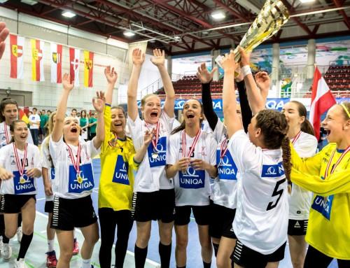 SRG-Handballerinnen krönen sich zum besten Team Österreichs