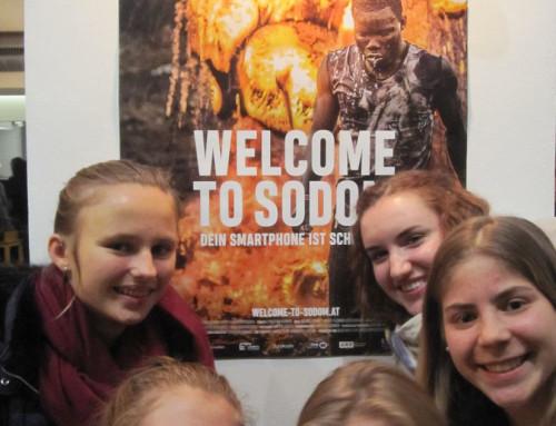 Welcome to Sodom liebe Schülerin und lieber Schüler! Auch dein Smartphone ist schon hier!
