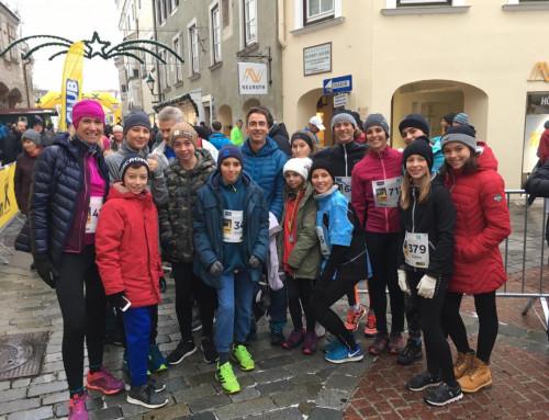 Einstimmung auf die Adventzeit beim 29. Mödlinger Adventlauf am 2.12.2018