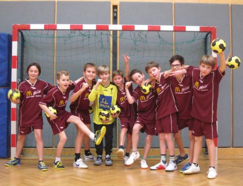 Semifinal-Einzug unserer jüngsten Handballer