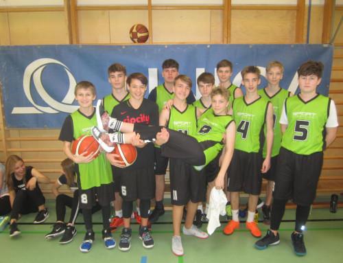 Basketball Unterstufe: Dritt- und Viertklässler holen die Silbermedaille nach Hause und sind Vizelandesmeister
