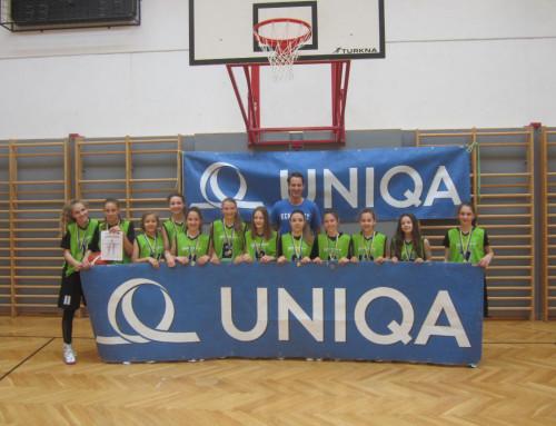 Basketball Unterstufe: Mädels werden Landesmeister und qualifizieren sich für die Bundesmeisterschaft in Oberwart!