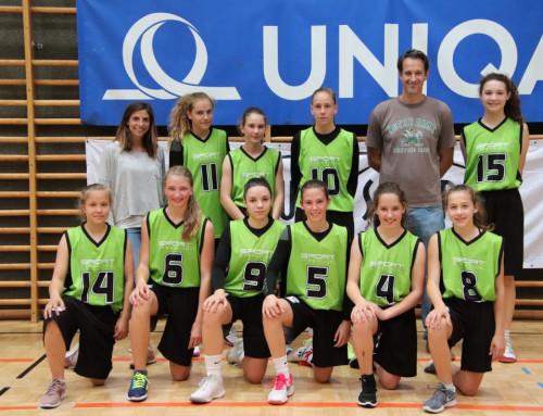Basketball: Mädels erreichen Platz 7 bei der Bundesmeisterschaft