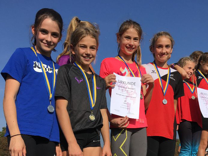 Cross Country Landesmeisterschaften 2019 - Platz 2 Unterstufe