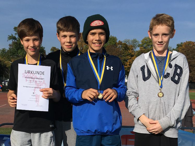 Cross Country Landesmeisterschaften 2019 - Platz 3 Unterstufe
