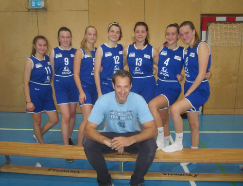"Basketball Oberstufe Mädchen: ""Once upon a time in… Deutsch Wargam"""