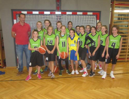 Basketball-Unterstufe Mädchen: Souveräne Leistung in der Vorrunde