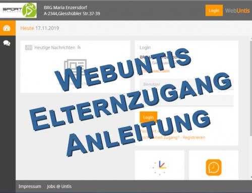 Anleitung: Elternzugang zum elektronischen Klassenbuch Webuntis