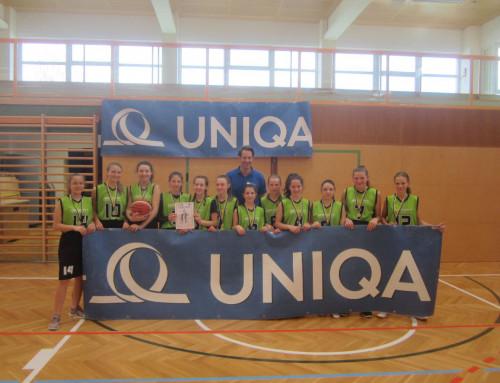 Basketball Mädchen Unterstufe: Nichtvereinsspielerinnen werden souverän Landesmeister